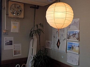 江波フィールドワーク会場・久弥さんの壁面